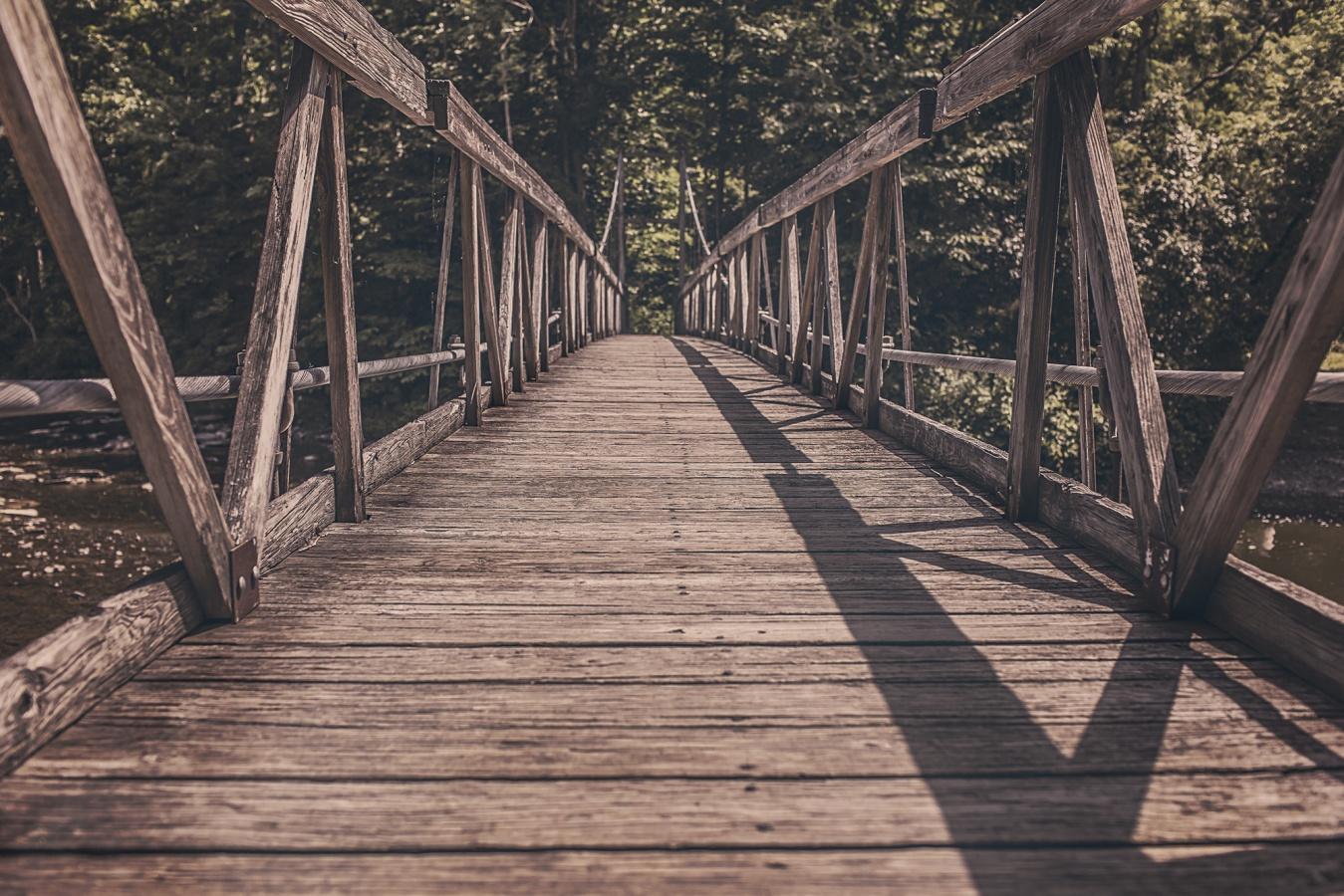 Деревянные мосты фото